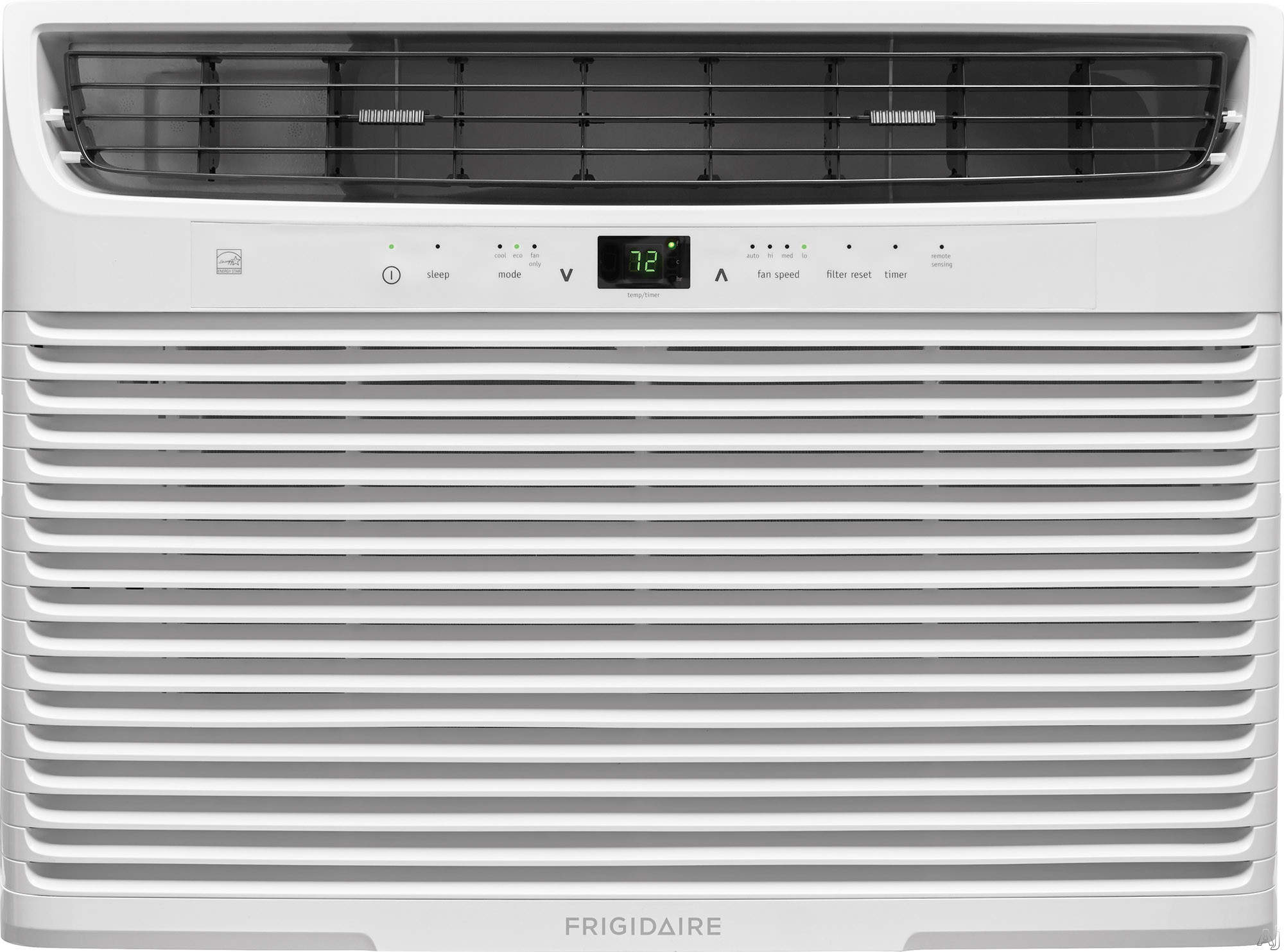 Frigidaire FFRE1233U1 12,000 BTU Room Air Conditioner with Effortless™ Remote Temperature Control, Programmable 24-Hour Timer, Effortless™ Clean Filter, SpaceWise® Adjustable Side Panel