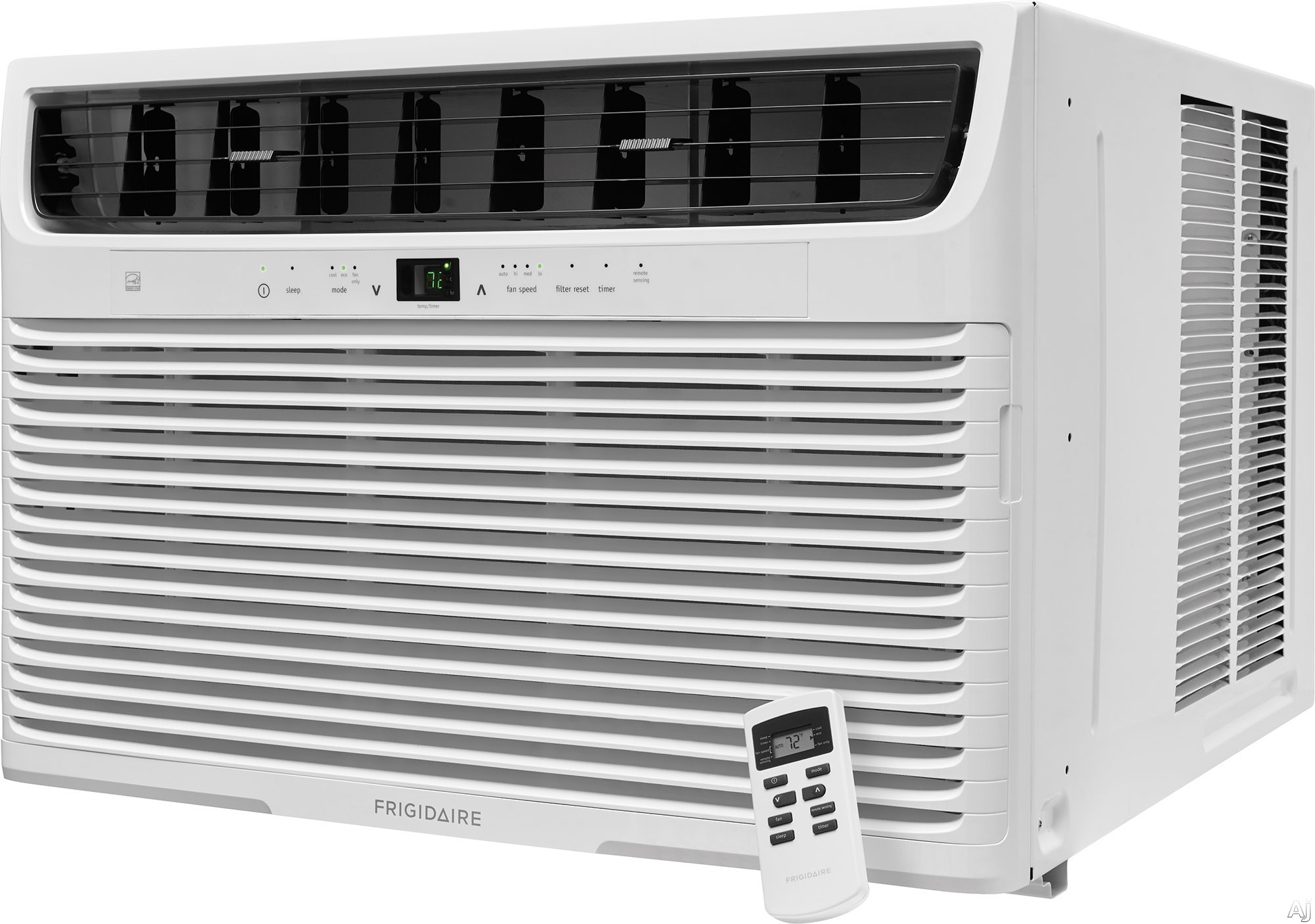 Frigidaire FFRE2233U2 22,000 BTU Room Air Conditioner with Effortless™ Remote Temperature Control, Effortless™ Clean Filter, SpaceWise® Adjustable Side Panels, Programmable 24-Hour Time
