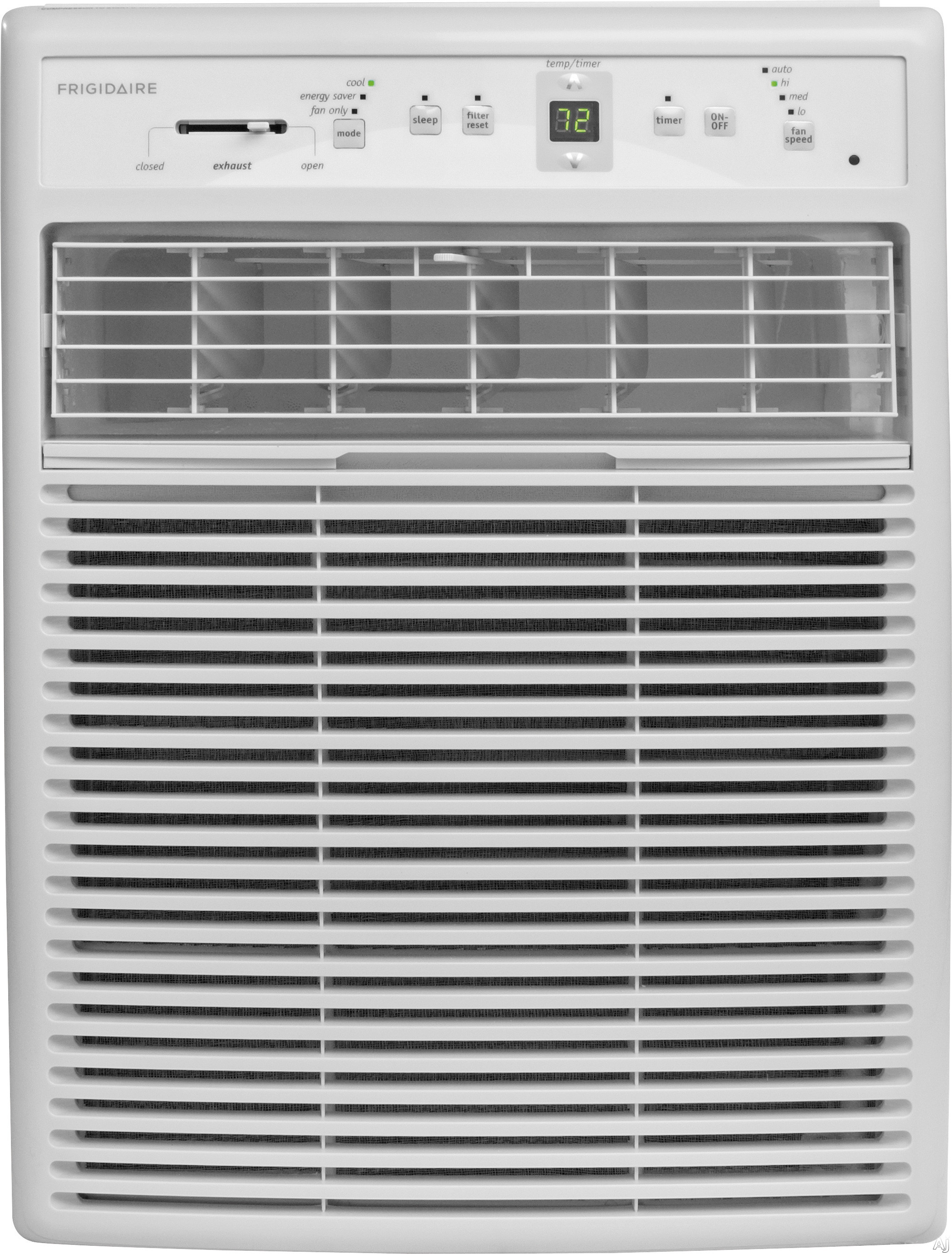Frigidaire FFRS1022R1 10,000 BTU Slider/Casement Window Air Conditioner with 10.4 EER, R-410A Refrigerant, 3.4 Pts/Hr Dehumidification, 450 sq. ft. Cooling Area and Remote Control FFRS1022R1