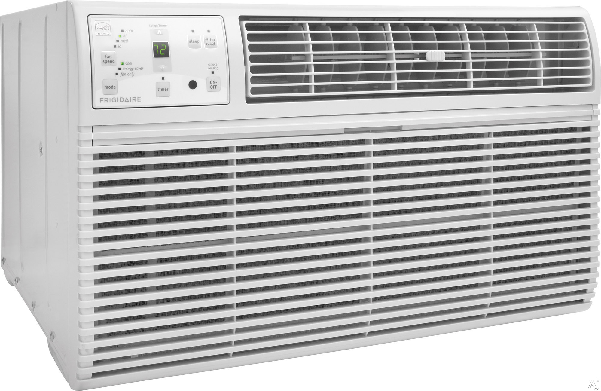Frigidaire FFTA0833S1 8,000 BTU Room Air Conditioner with 270 CFM, 3 Fan Speeds, Effortless Remote Temperature Control, Energy Saver Mode, Effortless Clean Filter, Effortless Restart, Ready-Select Con