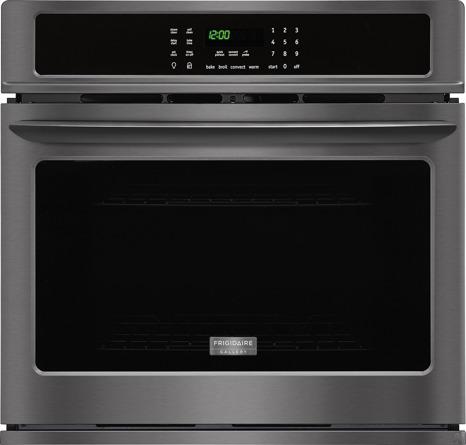 "Frigidaire Gallery Series FGEW3065PD 30 Inch Single Electric Wall Oven with True Convection, Quick Preheat, Effortlessâ""¢ Convection, Delay Start, One-Touch Keep Warm, Auto Shut-Off, Temperature P"