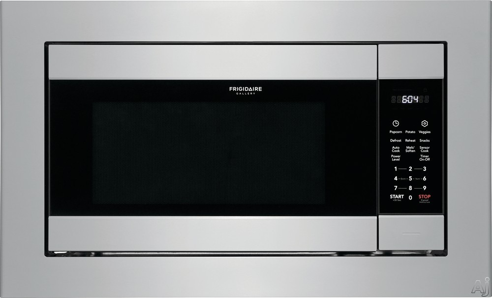 """Frigidaire Gallery Series FGMO226NUF 24 Inch Built-In Microwave with Smudge-Proofâ""""¢ Finish, Effortlessâ""""¢ Reheat, Sensor Cooking Options, One-Touch Options and Fits-Moreâ""""¢ Microwave: Sta"""