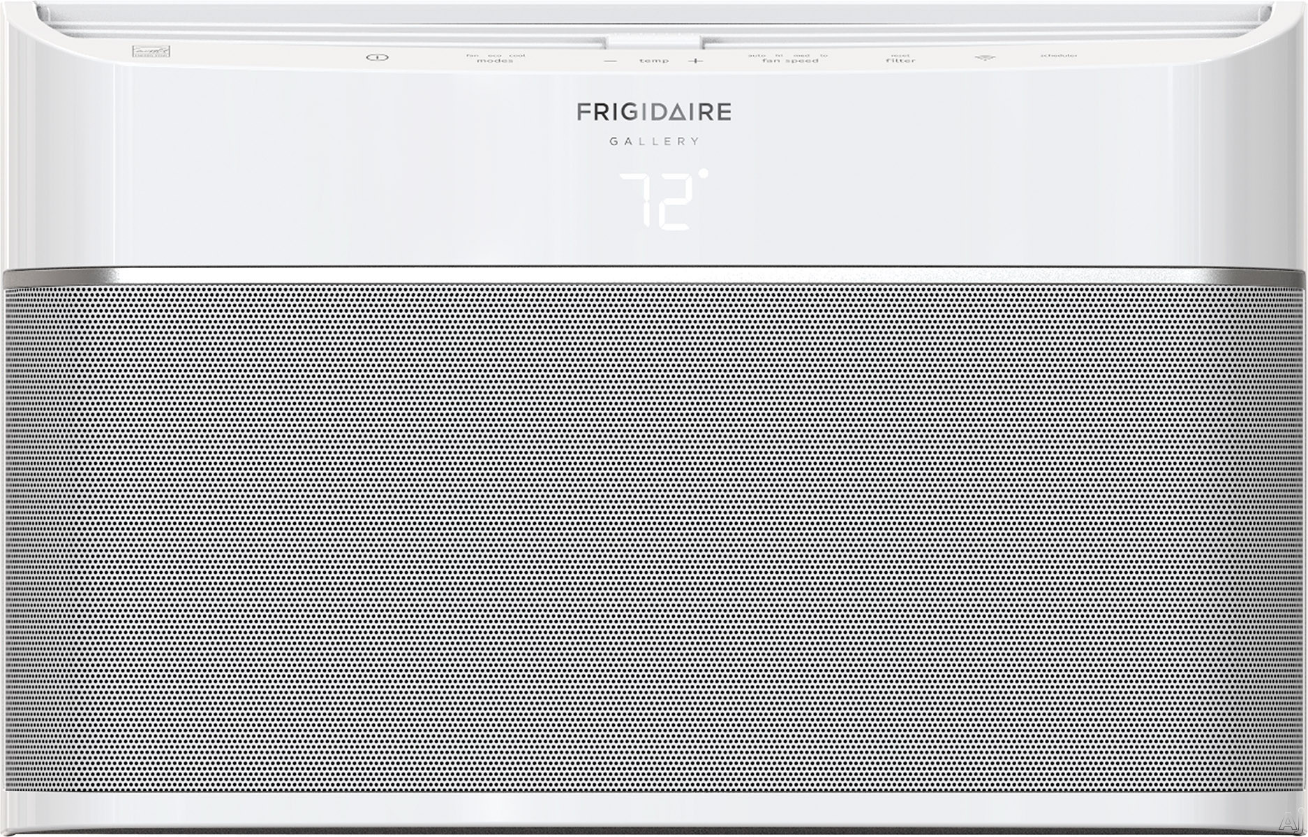 "Frigidaire FGRC0844U1 8,000 BTU Room Air Conditioner with Effortlessâ""¢ Scheduling, Clean Air Ionizer, Effortlessâ""¢ Temperature Control, Smart App Compatible, Antibacterial Mesh Filter, Sleep"