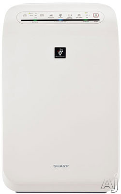 Sharp Plasmacluster Series FPF60UW 280 sq. ft. Air Purifier with Plasmacluster Ion Air Purification System, True HEPA Filtration, 4-Speed Fan, Auto Speed Mode, 2-4-8-Hr. Off Timer and ENERGY STAR Qualification FPF60UW