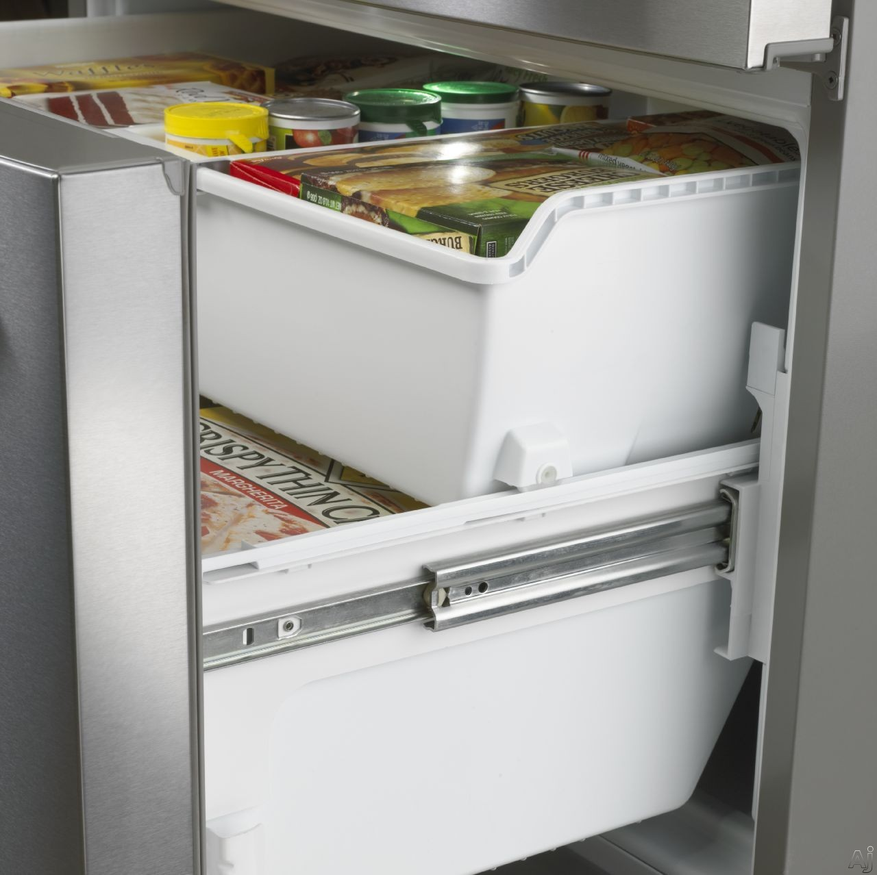 Maytag Mft2574dem 24 7 Cu Ft French Door Refrigerator With 5 Glass Shelves Gallon Door