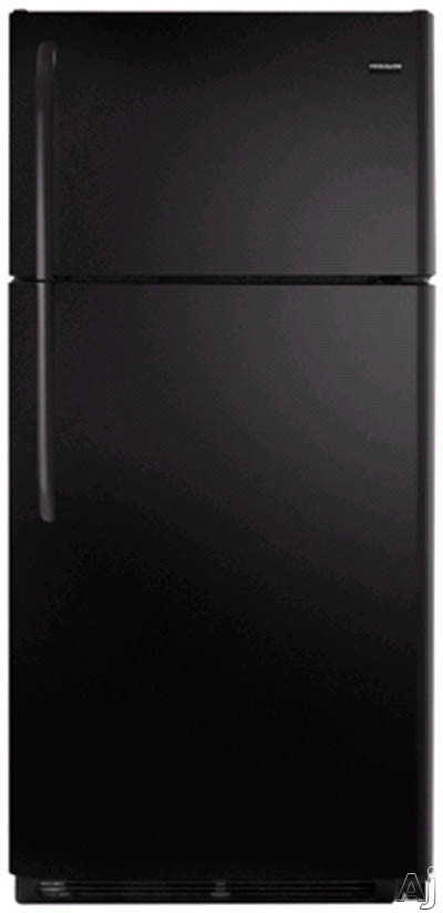 18.2 cu. ft. Top Freezer Refrigerator-Black
