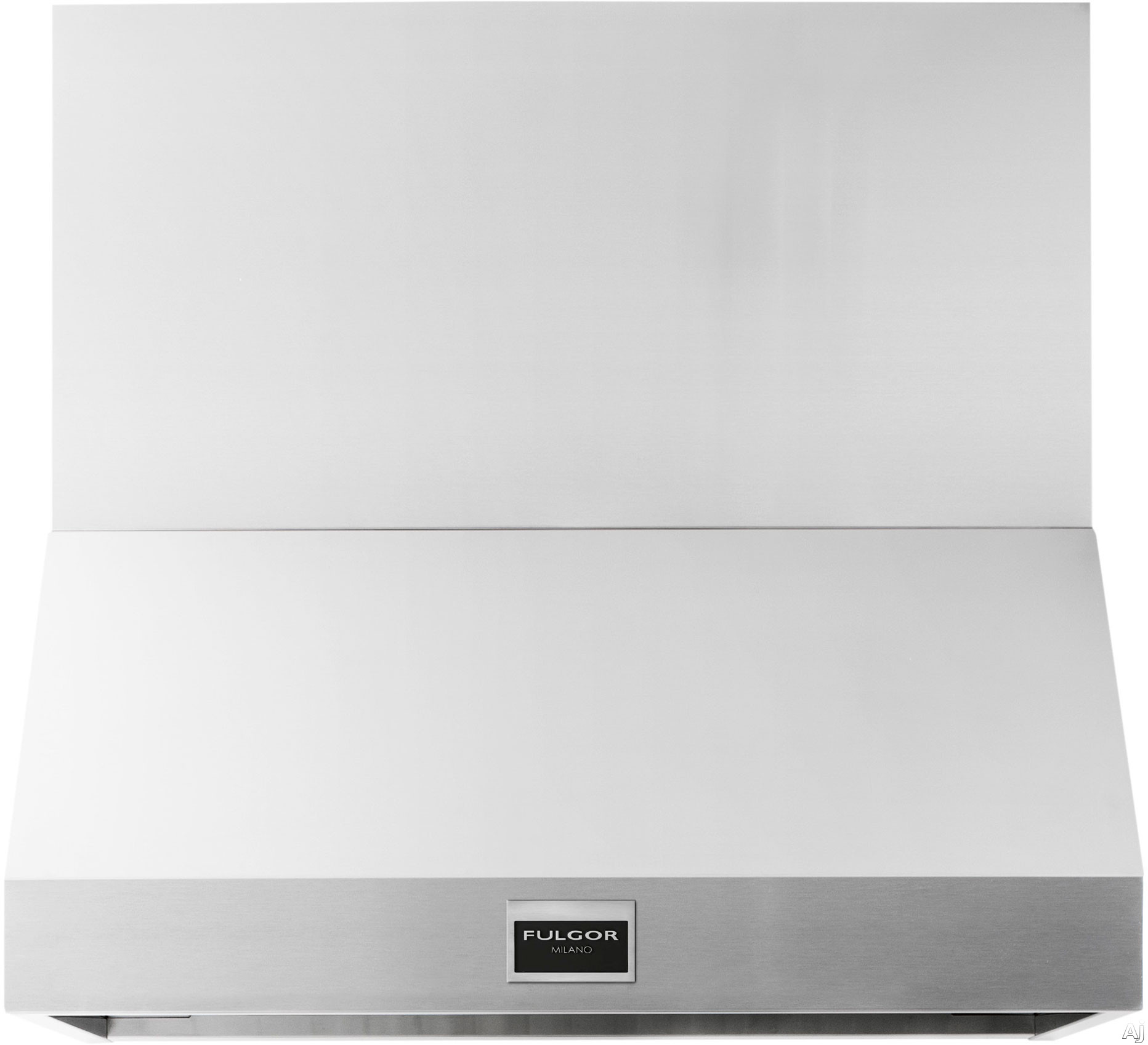 Fulgor Milano Sophia Series F6PH36S1 36 Inch Professional Wall Mount Hood with 600 CFM Internal Blower Stainless Steel Baffle Filters Mechanical Controls 4 Speed Blower Fan LED Lighting and Recirculating Options