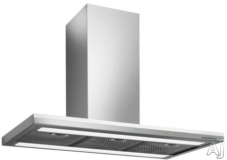 Futuro Futuro Streamline Series IS48STREAMLINEWHT 48 Inch Island Chimney Range Hood with 940 CFM Internal Blower Included, 4 Speeds, 0.5 - 3.2 Sones, Fluorescent Lighting, Dishwasher Safe Metal Mesh Filters and Electronic, Illuminated Control Panel