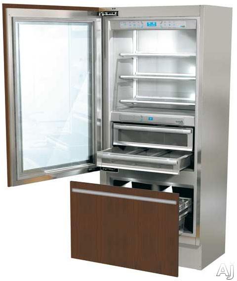 fhiaba-integrated70-series-g8991tgt3iu-36-built-in-bottom-freezer-with-200-cu-ft-capacity-glass-shelves-3-temperature-zones-trimode-convertible-freezer-ice-maker-glass-door-panel-ready-left-hinge-door-swing