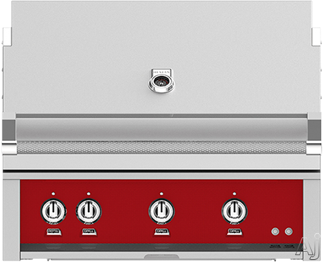 Hestan GABR36LPRD 36 Inch Built-In Grill with