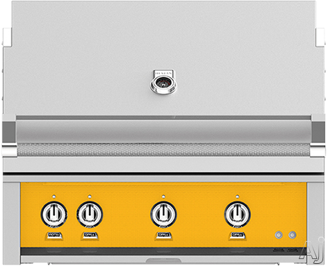 Hestan GABR36NGYW 36 Inch Built-In Grill with