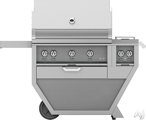 Hestan GSBR36CXNG 55 Inch Freestanding Grill with