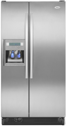 Whirlpool Gd5dhaxvy 25 3 Cu Ft Side By Side Refrigerator