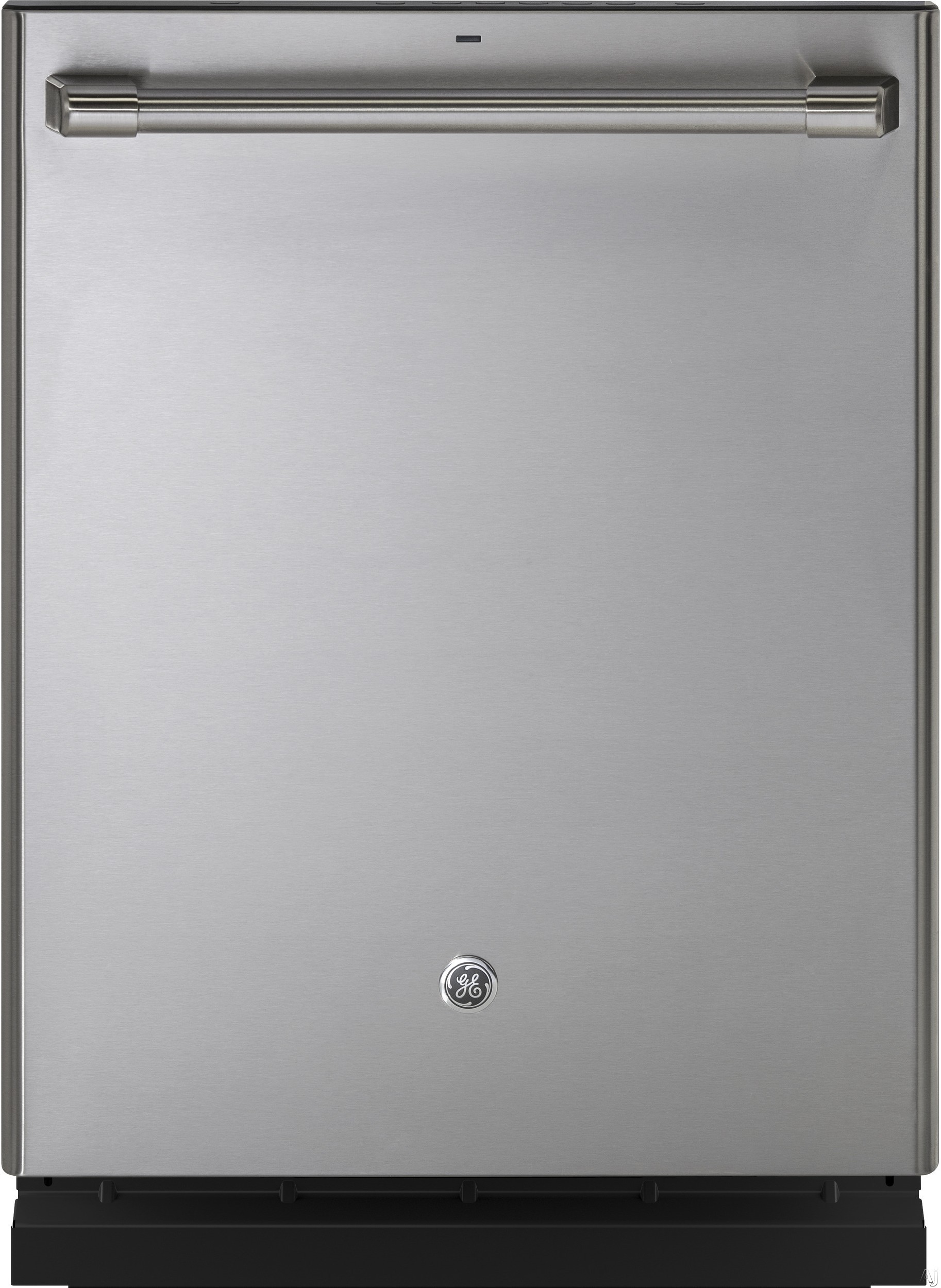 GE Cafe Series CDT835SSJSS 24 Inch Fully Integrated Dishwasher with 5 Wash Cycles 16 Place Setting Capacity Hard Food Disposer Adjustable Tines Bottle Jets Silverware Jets Side Jets Wash Zones Nylon R