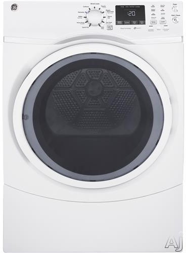 GE GFD45GSSK 27 Inch 7.5 cu. ft. Gas Dryer with 13 Dry Cycles, Steam Refresh, Steam Dewrinkle, Quick Dry, Sanitize Cycle, Warm Up, HE Sensor Dry, Damp Alert, Timed Dry, Stainless Steel Drum and ADA Compliant