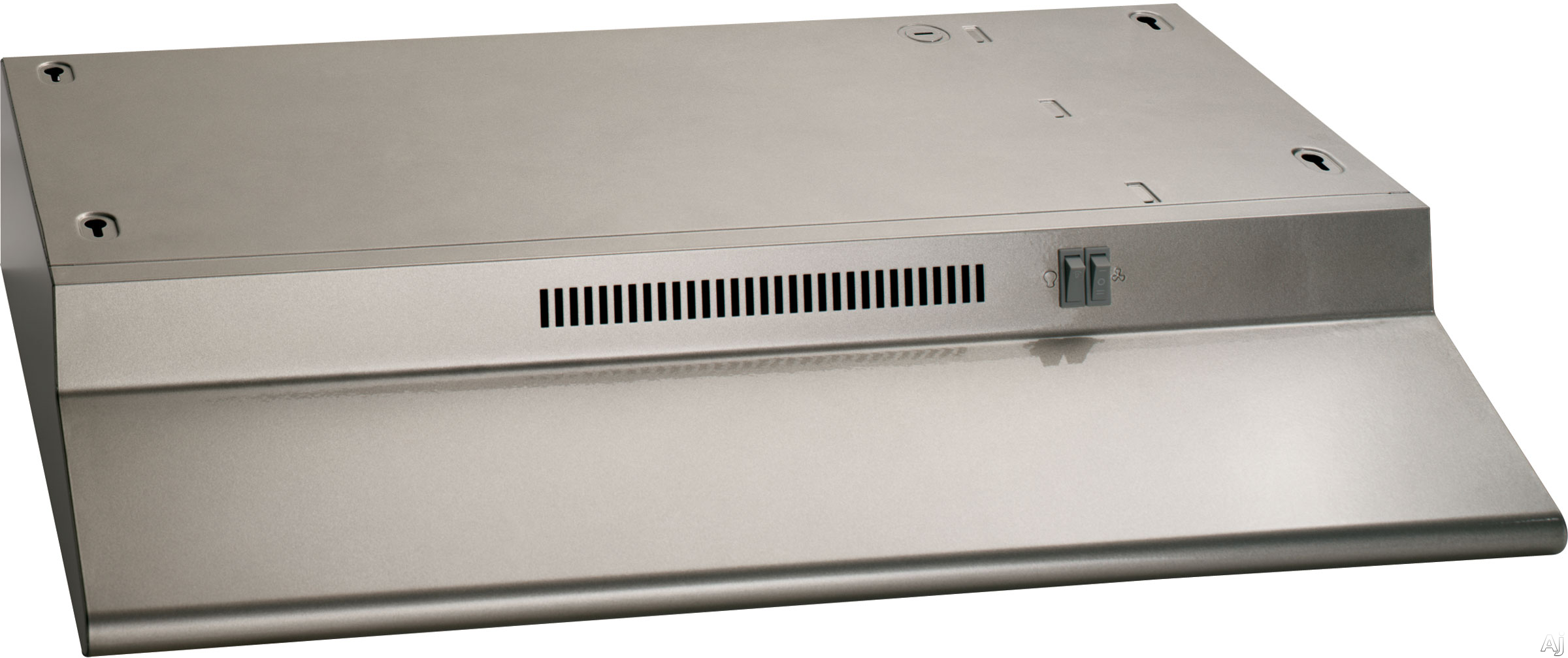 GE JN328KSA 30 Inch Under Cabinet Range Hood with 2 Fan Speeds, Cooktop Light, Removable Grease Filter and Non-Vented