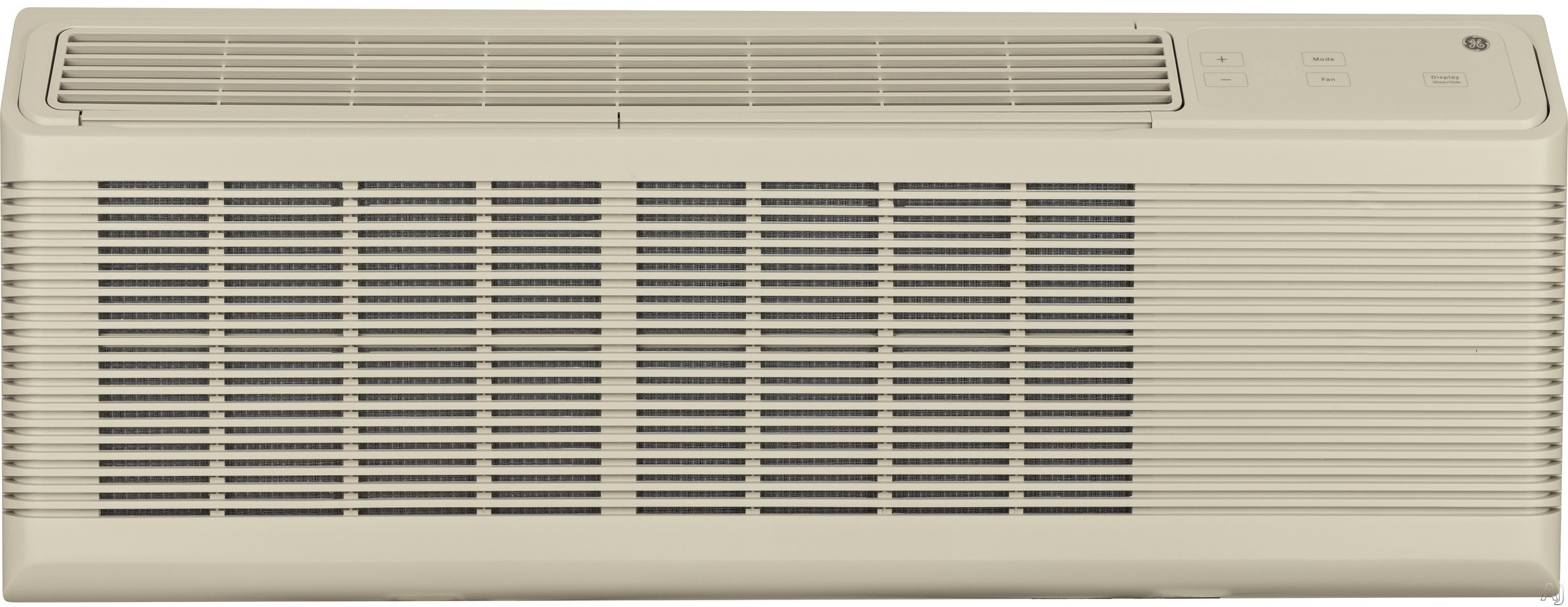 GE Zoneline AZ65H12DAC 11,900 BTU Packaged Terminal Air Conditioner with 10,400 BTU Heat Pump and Electric Heat Backup, 11.7 EER, 3.7 Pints Per Hour Dehumidification, Corrosion Protection, R410A Refrigerant and 230/208 Volt AZ65H12DAC