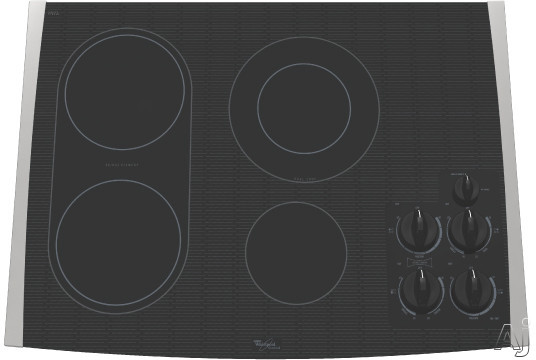 Whirlpool Ceramic Cooktop Parts ~ Whirlpool gjc rs quot smoothtop electric cooktop with