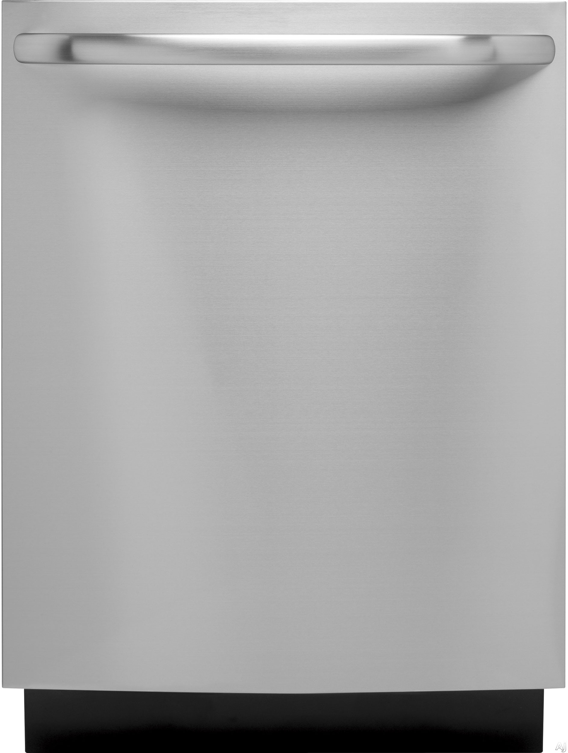 """GE - 24"""" Top Hidden Control Tall Tub Built-In Dishwasher with Stainless Steel Tub - Stainless steel GLDT696JSS"""