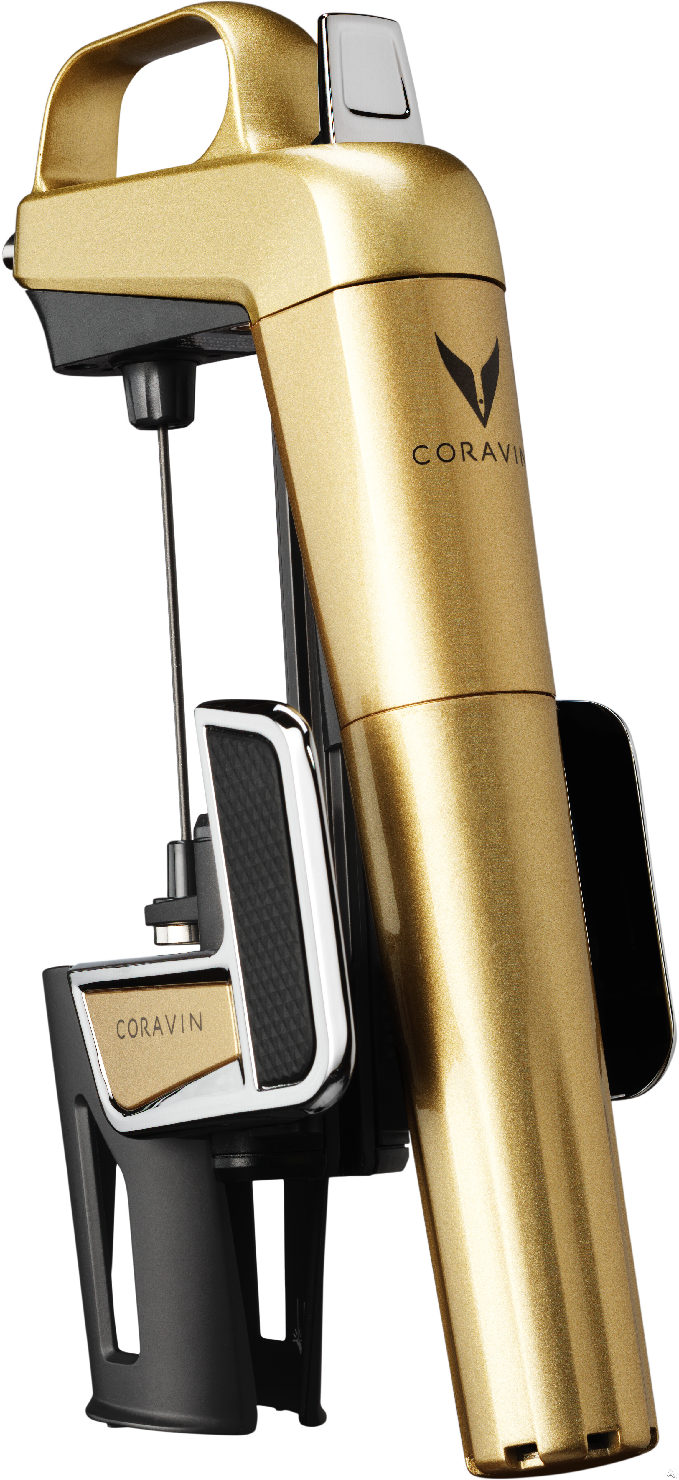 Coravin 10050x Model Two Elite Wine Pouring System With Load Cell Technology, Coravin Wine Needle And Properfit Clamp