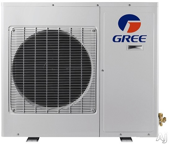 Gree Multi Series MULTI18HP230V1AO 18,000 BTU Multi-Zone Mini-Split Outdoor Air Conditioner with 19,000 BTU Heating Capacity, 1,530 CFM Air Flow, Low Ambient Operation, DC Inverter Technology, Intelligent Defrost, Gold Fin Coil Coating and Auto Restart M