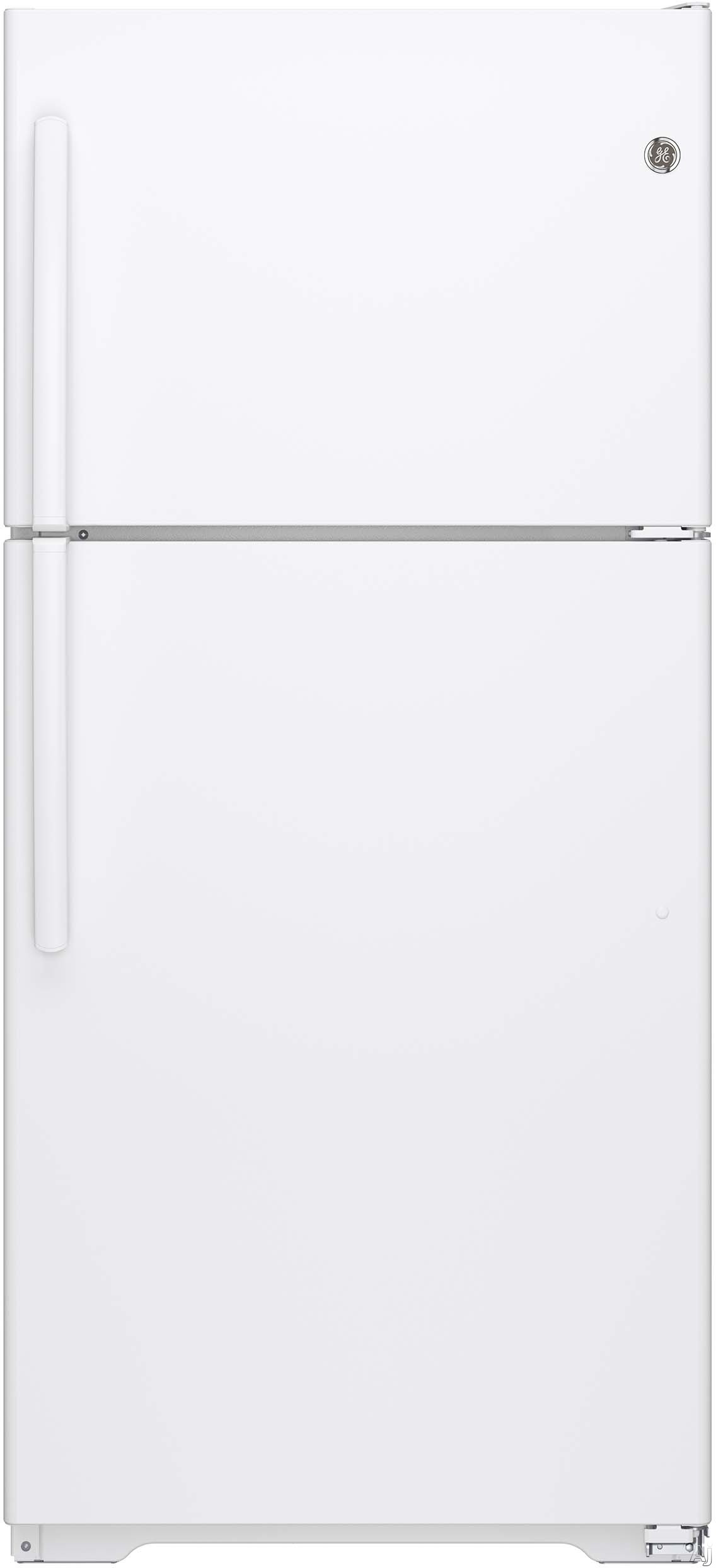 GE GTE18ITHWW 30 Inch Top-Freezer Refrigerator with