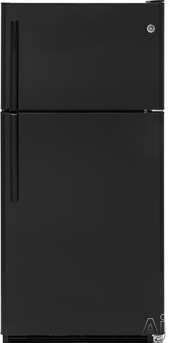 GE GTS21FGKBB 31 Inch Top-Freezer Refrigerator with