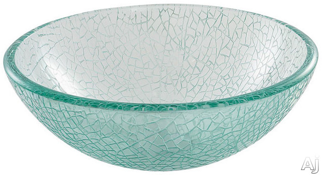 Broken Glass Vessel Sink