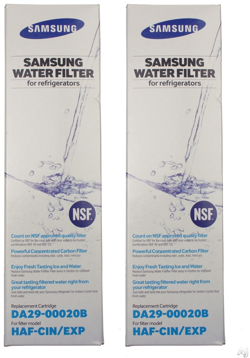 Samsung HAFCIN2P 2 Pack Water Filter