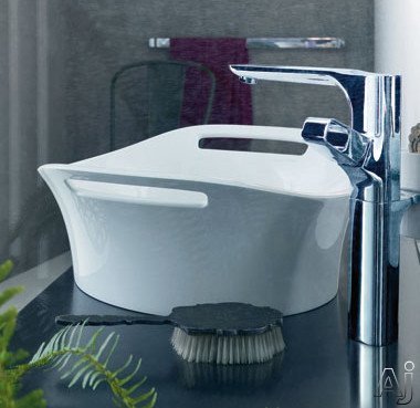 Hansgrohe 11301000 14 Quot White Cast Marble Vessel Sink With