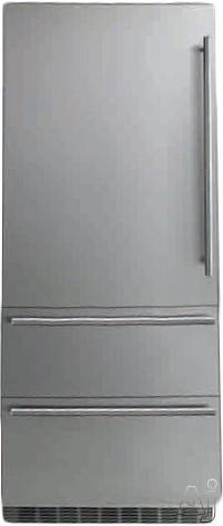 Liebherr Premium Plus Series HC2061 36 Inch Fully-Integrated Bottom-Freezer Refrigerator with 19.4 cu. ft. Capacity, Adjustable Glass Shelves, Gallon Door Storage, Full-Width Deli Drawer, Double Freezer Drawers, Energy Star Rated and Panel Ready: Left Hinge Door