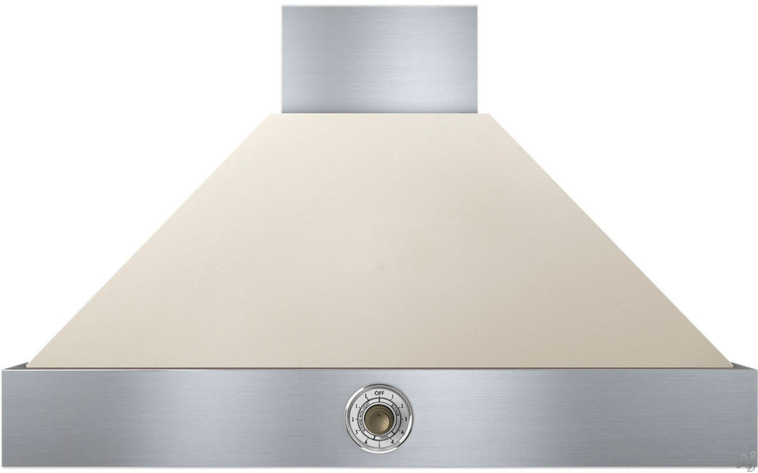 Superiore Deco Series HD361ACCB 36 Inch Wall Mount Canopy Hood with 600 CFM Blower, 4 Speed Settings, 3 Dishwasher Safe Baffle Filters, 2 Halogen Lights, 58 dBA Noise Level and Automatic Shut-Off: Cre