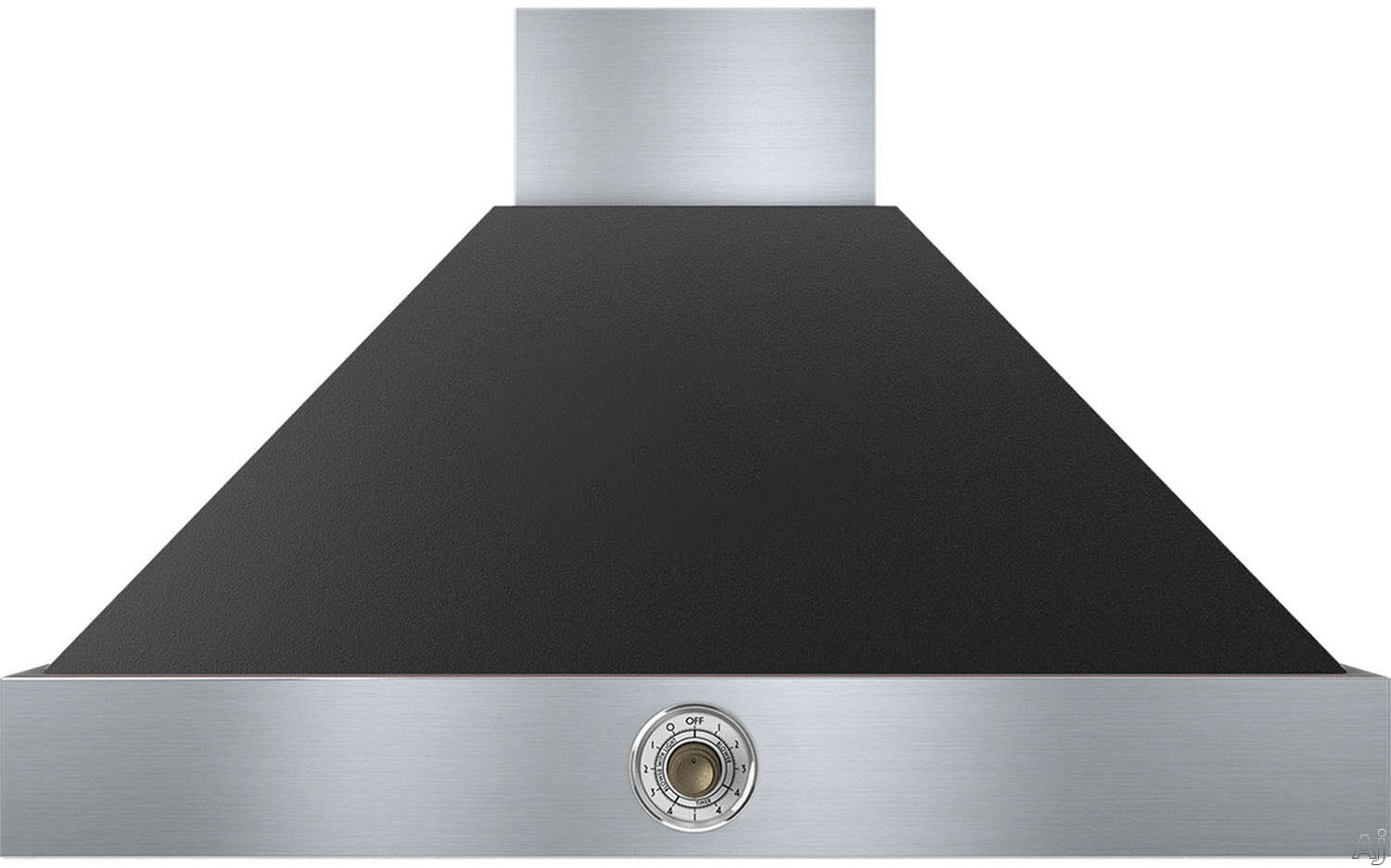 Superiore Deco Series HD361ACNB 36 Inch Wall Mount Canopy Hood with 600 CFM Blower, 4 Speed Settings, 3 Dishwasher Safe Baffle Filters, 2 Halogen Lights, 58 dBA Noise Level and Automatic Shut-Off: Bla