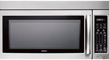 Siemens HF36V305 1.8 Cu Ft Over-the-Range Microwave Oven With 300 CFM Ventilation 1000 Cooking Watts 10 Power Levels Sensor Cook And Touch Controls