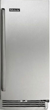 Perlick Signature Series HP15RS3X 15 Inch Built-in Undercounter Refrigerator with 2.8 cu. ft. Capacity, 2 Adjustable Full-Extension Pull-Out Wire Shelves, Front-Vented RAPIDcool Cooling System, ENERGY STAR and Digital Control Module