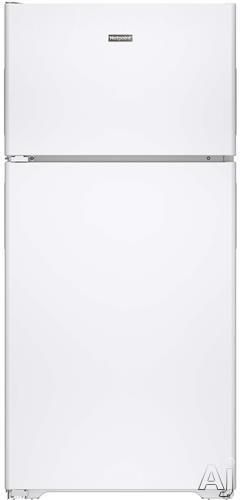 Hotpoint HPS15BTHLWW 14.6 cu. ft. Top-Freezer Refrigerator with 3 Fresh Food Shelves, Dairy Compartment, Reversible Hinges, Gallon Door Storage, ADA Compliant and Never Clean Condenser: White, Left Hinge Door Swing