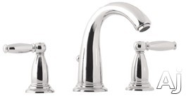 "Hansgrohe Swing C Series 06117920 Double Lever Lavatory Faucet with 5-1 / 8"" Reach, 6-3 / 4"" Height, U.S. & Canada 6117920"