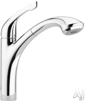 """Hansgrohe Allegro E Series 04076000 Single Lever Pull-Out Faucet with 10"""" Reach, 12-5 / 8"""" Height, U.S. & Canada 4076000"""