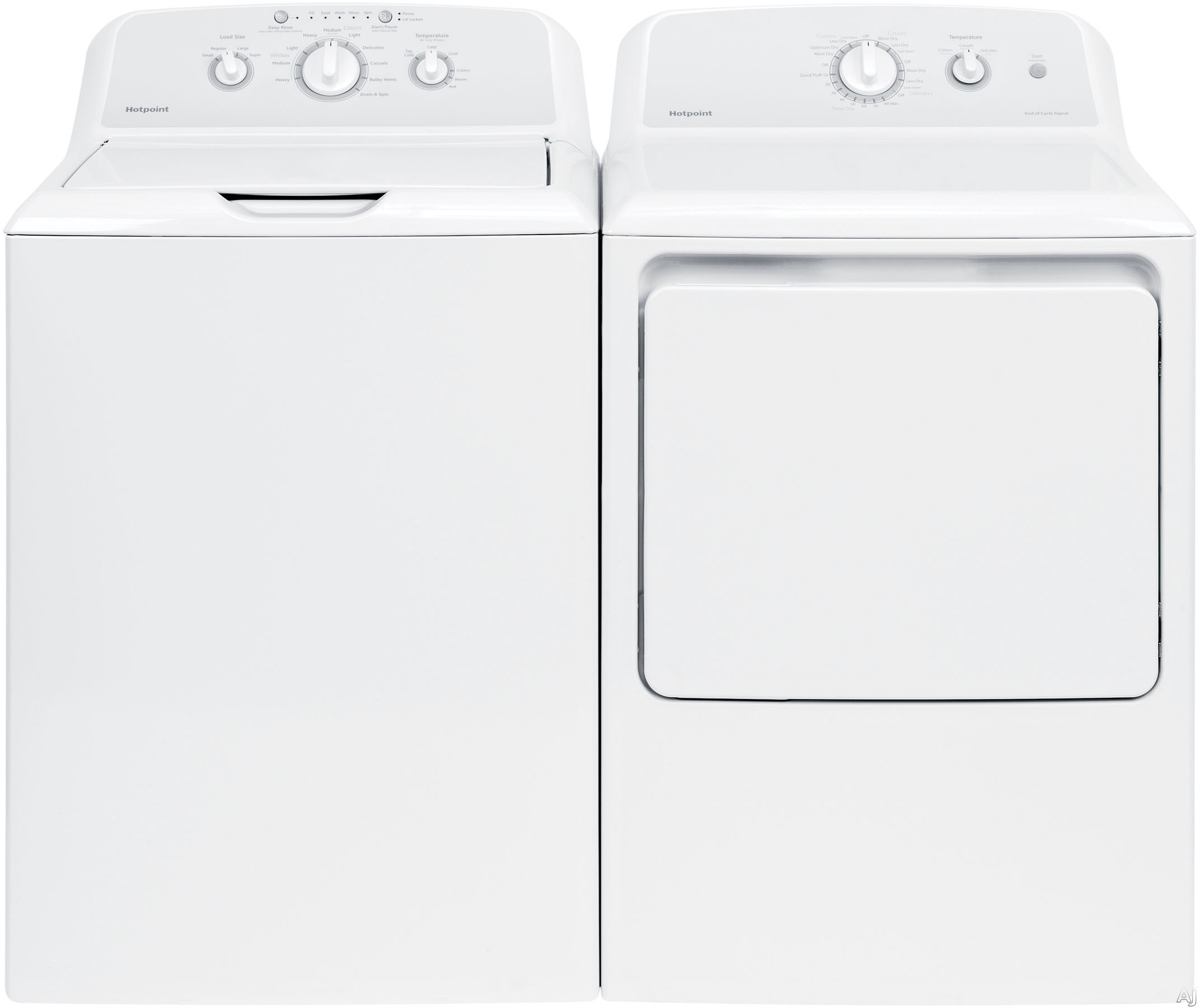 Hotpoint Washer Dryer Combo Hotpoint Hot240tl Hotpoint 240 Series Top Load Washer Dryer Pair