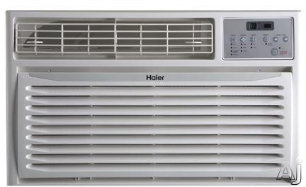 Haier HTWR08XCR 8,000 BTU Thru-the-Wall Air Conditioner with 9.8 EER, 2.5 Pts/Hr Dehumidification, 24 Hour Timer, Sleep Mode, Remote Control and 115V HTWR08XCR