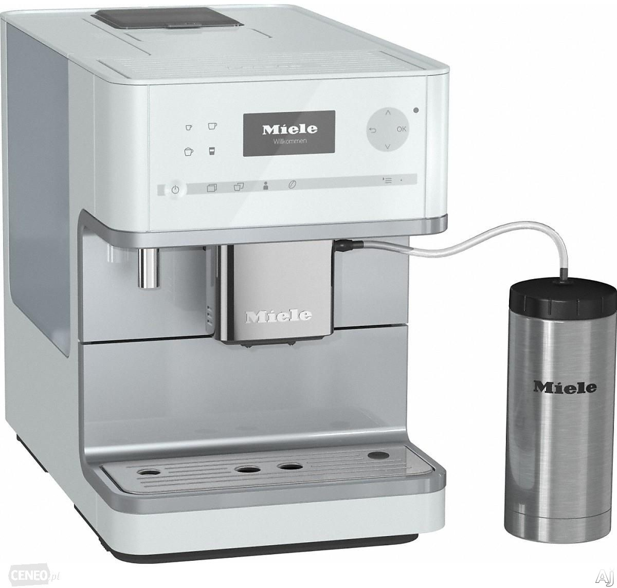 Miele CM6350LOWE Countertop Coffee Machine with AromaticSystem, ComfortClean, Easily removable Brew Unit, System Lock, User Profiles and Individual Settings: Lotus White