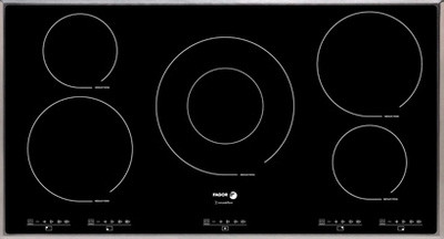 "Fagor IFA90 36"" Induction Cooktop with 5 Cooking Zones, 12 Cooking Settings, 3 Quick Launch, U.S. & Canada IFA90"