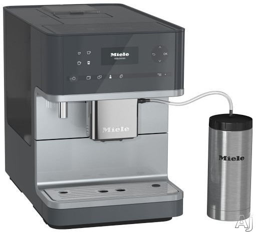 Miele CM6350GRGR Countertop Coffee Machine with AromaticSystem, ComfortClean, Easily removable Brew Unit, System Lock, User Profiles and Individual Settings: Graphite Gray