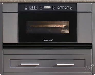 Dacor Discovery MMD30 30 Inch Built-in Microwave In-A-Drawer with 1.0 cu. ft. Capacity, 950 Cooking Watts, 11 Power Levels, Three Sensor Cooking Programs, Micro Warm Mode, Automatic Drawer Opening and Touch Controls