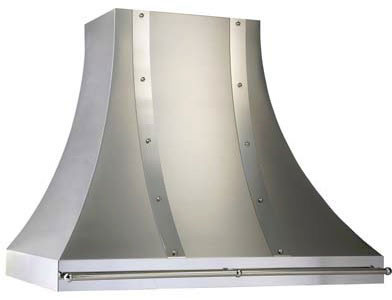 Vent-A-Hood Designer Series JDHC2SSAS Wall Mount Hood with Filterless Magic Lung Blower, Mirrored Trim, Pot Rail, Blower CFM Options and Dishwasher-Safe Slide-Out Blower Housing Grease Trap