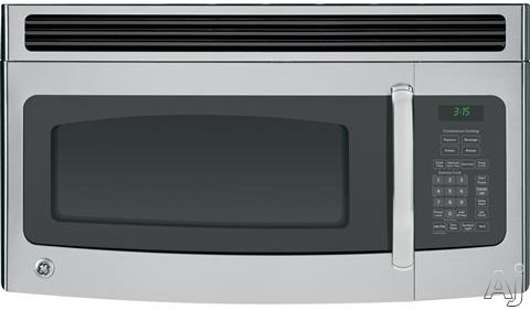 Ge Jvm3150sfss 1 5 Cu Ft Over The Range Microwave Oven
