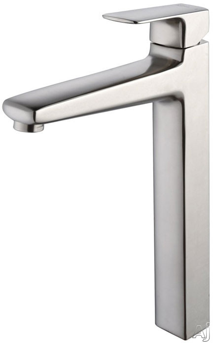 "Kraus Virtus Series KEF15500BN Virtus Single Lever Faucet with 10"" Reach, Solid Brass Construction, U.S. & Canada KEF15500BN"