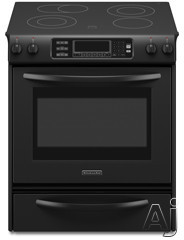 "KitchenAid Architect Series II KESS907SBL 30"" Slide-In Electric Range with 4 Radiant Elements, U.S. & Canada KESS907SBL"