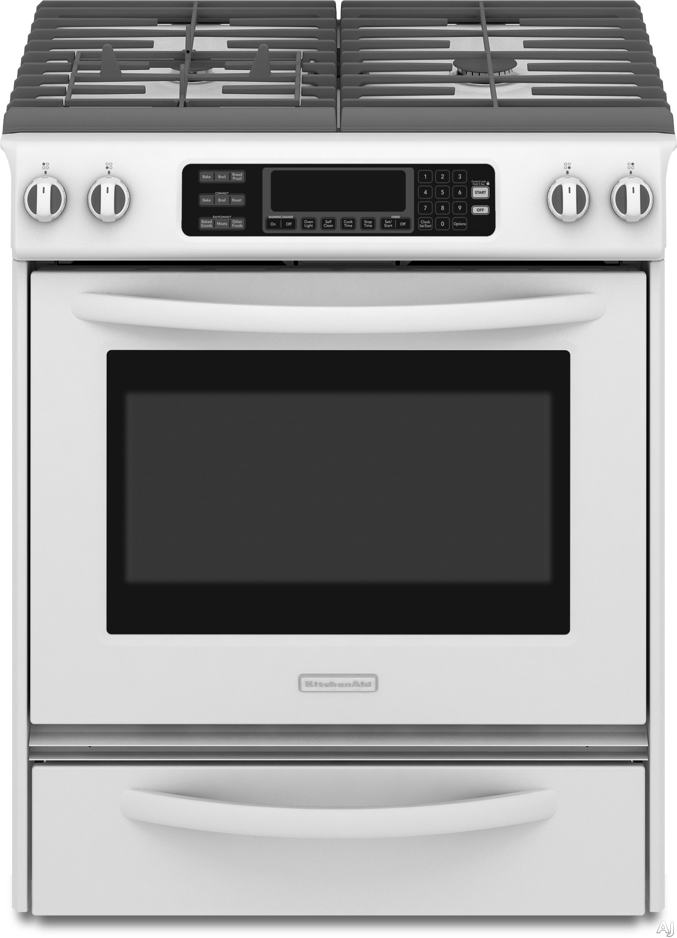 Kitchenaid Kgss907s 30 Quot Slide In Gas Range With 4 Sealed
