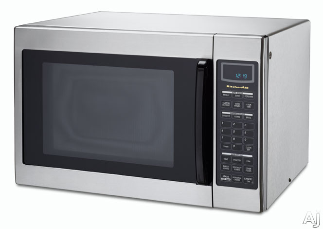 KitchenAid KCMC155JSS 1.5 Cu. Ft. Countertop Convection Microwave Oven ...